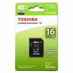 Thẻ nhớ Micro SD 16G TOSHIBA  CLASS 10  BOX