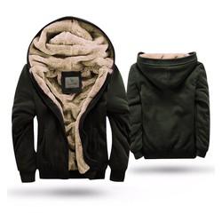 Áo khoác nỉ lót lông thời trang siêu ấm