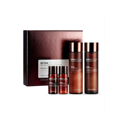 Set chăm sóc da cho nam  BIFIDA  For Men Revitalizing Skin Care 4sp - 10569674 , 8649418 , 15_8649418 , 990000 , Set-cham-soc-da-cho-nam-BIFIDA-For-Men-Revitalizing-Skin-Care-4sp-15_8649418 , sendo.vn , Set chăm sóc da cho nam  BIFIDA  For Men Revitalizing Skin Care 4sp