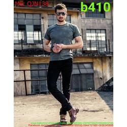 Quần jean nam màu đen hàng cao cấp mới về đủ size QJN138