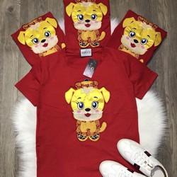 áo in hình cún kute