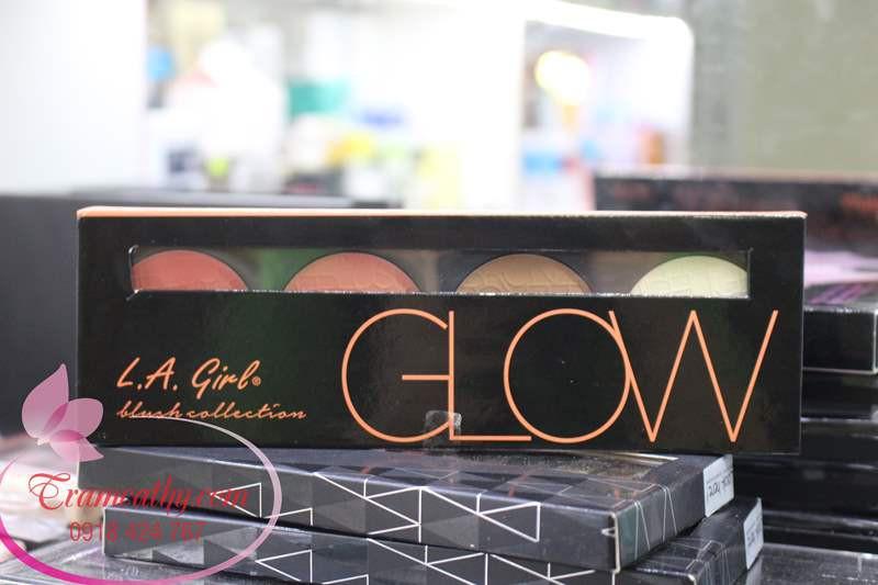 Phấn má hồng và tạo khối L.A Girl Beauty Brick Blush Collec 6