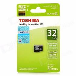 Thẻ nhớ Micro SD 32G TOSHIBA  CLASS 10  BOX