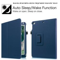 Bao da Cao cấp cho iPad mini 4 hai góc xoay _ T-Shop VN