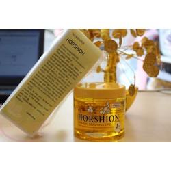 Kem wax mật ong Horshion kèm  giấy wax