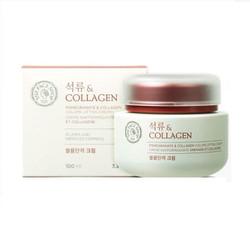 Kem chống lão hóa, dưỡng trắng chiết xuất Lựu The Face Shop Collagen