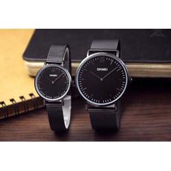 Đồng hồ Đôi SKmei Dây Nhuyễn Thời Trang