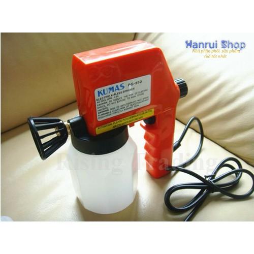 Worldmart máy phun sơn cầm tay điện áp 220v kumas hàng cao cấp