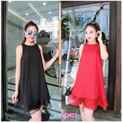 Đầm suông ren lai Bạch Nguyễn