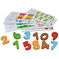 Bộ thẻ số học số và tập đếm 3D