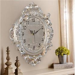 Đồng hồ treo tường đá trang trí