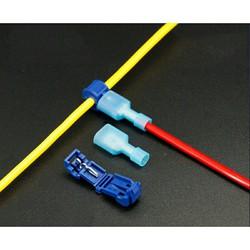Combo 60 cái Cút nối nhanh T2 cho dây 0.75 - 2.5mm2