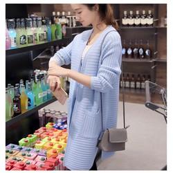 áo khoác len cardigan  cao cấp phong cách Hàn Quốc