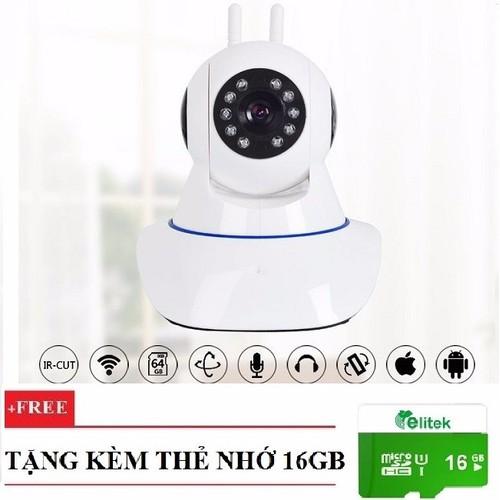Camera Dùng App YYP2P-Yoosee 2 Ăng-ten A9LS 1080P Ngày Đêm + Thẻ 16GB - 7753791 , 8374992 , 15_8374992 , 659000 , Camera-Dung-App-YYP2P-Yoosee-2-Ang-ten-A9LS-1080P-Ngay-Dem-The-16GB-15_8374992 , sendo.vn , Camera Dùng App YYP2P-Yoosee 2 Ăng-ten A9LS 1080P Ngày Đêm + Thẻ 16GB