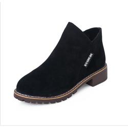 Giày bốt nữ phong cách Hàn Quốc - Màu Đen - KS231217