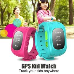 đồng hồ định vi trẻ em Q50
