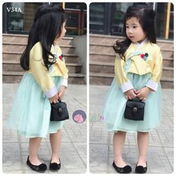 V34A -  Set Đồ Hanbok Hàn Quốc Cực Cute Cho Bé
