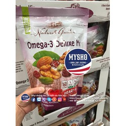 Hạt sấy khô tổng hợp Omega-3 Deluxe Mix