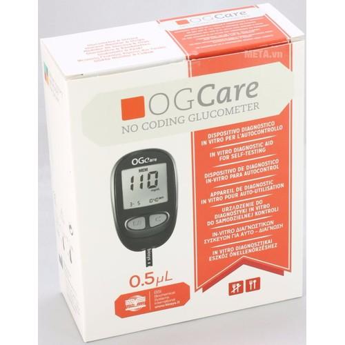 Máy đo đường huyết OGCare - ITALY kèm đủ bộ phụ kiện - 4972811 , 8375596 , 15_8375596 , 1250000 , May-do-duong-huyet-OGCare-ITALY-kem-du-bo-phu-kien-15_8375596 , sendo.vn , Máy đo đường huyết OGCare - ITALY kèm đủ bộ phụ kiện