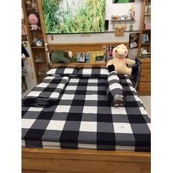 Xả kho cuối năm trọn bộ ga giường thun Hàn Quốc giá rẻ-caroden01