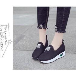 Giày đế độn cao 7p