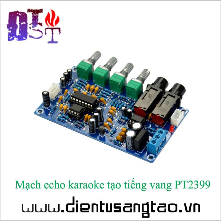 Mạch echo karaoke tạo tiếng vang PT2399 Full phụ kiện 4