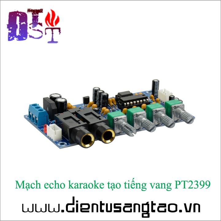 Mạch echo karaoke tạo tiếng vang PT2399 Full phụ kiện 5