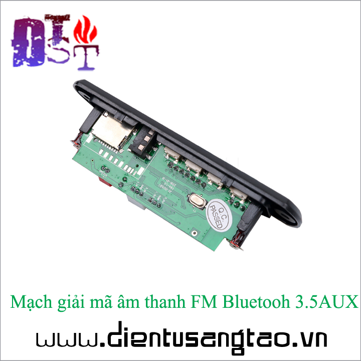Mạch giải mã âm thanh FM Bluetooh 3.5AUX 4