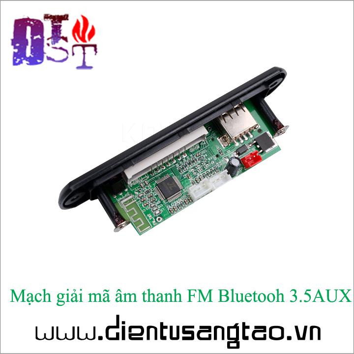 Mạch giải mã âm thanh FM Bluetooh 3.5AUX 3