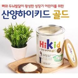 SỮA DÊ NÚI HIKID 700g cho trẻ từ 1-9 tuổi - Hàng xách tay Hàn Quốc