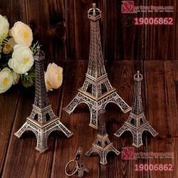 Mô hình tháp Eiffel kim loại - S