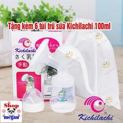 máy hút sữa bằng tay kichilachi hsk01 tặng 6 túi trữ sữa kichilachi