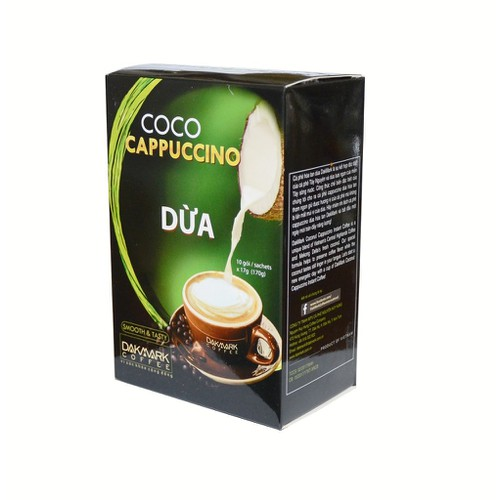Cà phê Cappuccino hoà tan dừa Dakmark thơm ngon - 7753784 , 8374964 , 15_8374964 , 42000 , Ca-phe-Cappuccino-hoa-tan-dua-Dakmark-thom-ngon-15_8374964 , sendo.vn , Cà phê Cappuccino hoà tan dừa Dakmark thơm ngon
