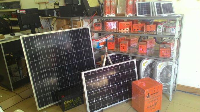 Điện mặt trời Ánh Dương