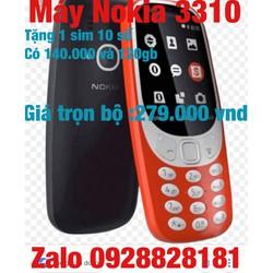 Nokia 3310 -2017 tặng kèm sim số