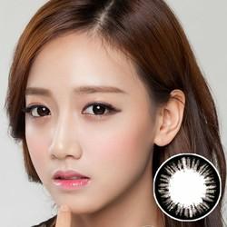 Kính giãn tròng Qeye Hàn Quốc và nước ngâm lens - nhỏ mắt
