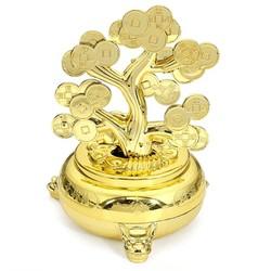 Cây Tiền Vàng Năng Lượng Mặt Trời 12cm