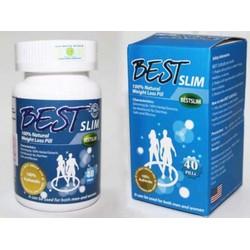 Viên Uống Giảm Cân hiệu quả Best Slim Mỹ