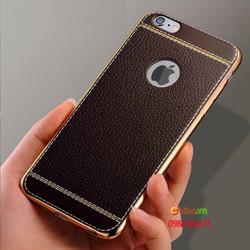 Ốp lưng da vân nổi sang trọng cho IPhone 6-6s plus