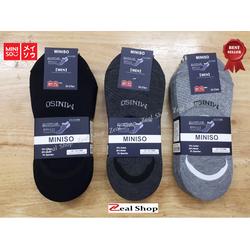 Combo 5 đôi Tất vớ hài nam Miniso Nhật Bản