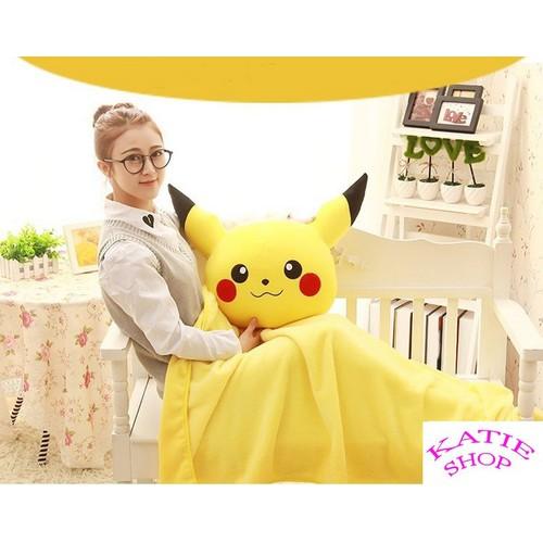Gối mền Pikachu hàng loại 1, nỉ nhung cực mịn, bộ chăn gối văn phòng - 10573937 , 8678787 , 15_8678787 , 239000 , Goi-men-Pikachu-hang-loai-1-ni-nhung-cuc-min-bo-chan-goi-van-phong-15_8678787 , sendo.vn , Gối mền Pikachu hàng loại 1, nỉ nhung cực mịn, bộ chăn gối văn phòng