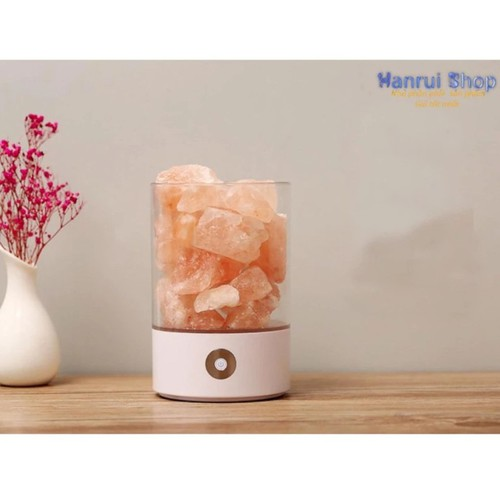 Worldmart đá muối himalaya lọc không khí kiêm đèn ngủ 0.9kg