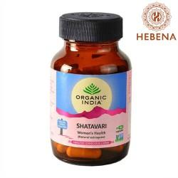 Viên uống tăng sức khỏe sinh sản Organic India Shatavari