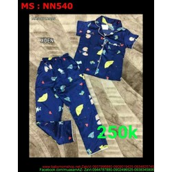 Đồ mặc nhà nữ quần dài hình họa tiết in 3d đẹp NN540