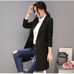 áo khoác vest dáng dài hàng nhập TB0504