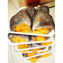 khô cá sặc trứng 3 nắng