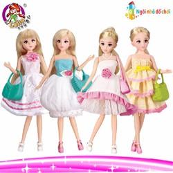 Combo 4 búp bê  công chúa Lelia
