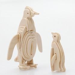 Đồ chơi lắp ráp gỗ 3D Mô hình Con Chim Cánh Cụt