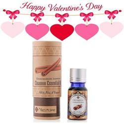 Quà valentine - Hộp tinh dầu quế