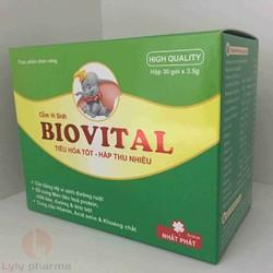 Biovital - Bổ sung các men tiêu hóa và những vi khuẩn có ích